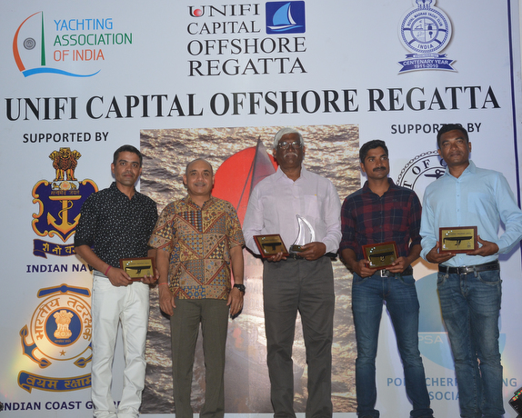 J/80 winners of Unifi Capital Offshore Regatta