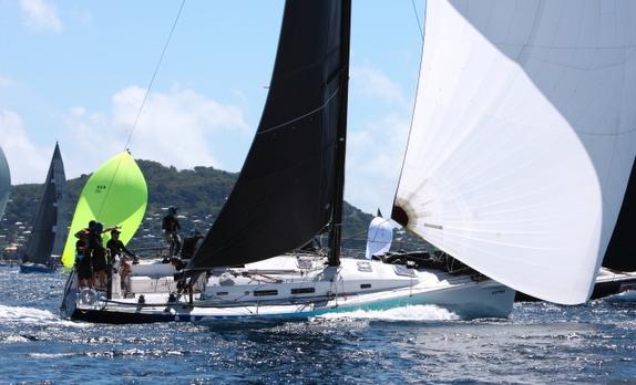 J/122 sailing Grenada