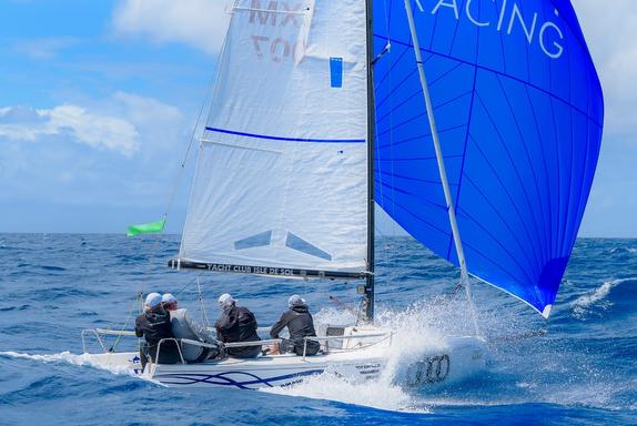J/70 IGY Marinas sailing St Maarten Heineken Regatta