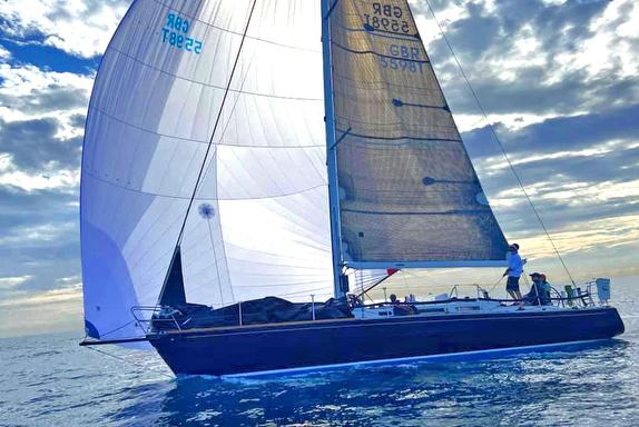 J/44 sailing SORC Palm Beach Race