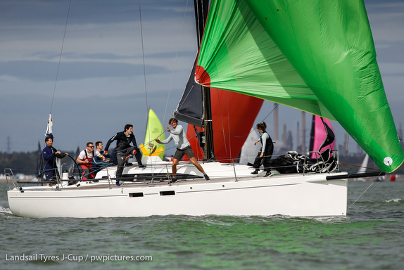 Gorgeous Landsail Tyres J-Cup UK Regatta!