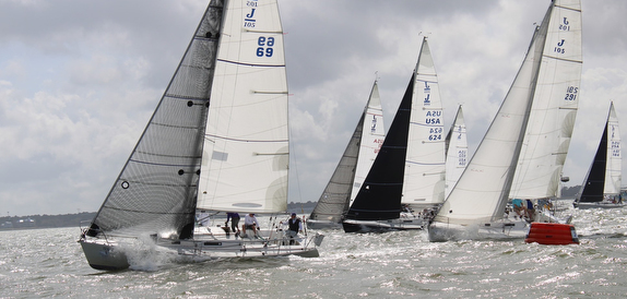 J/105s sailing Midwinters in Texas