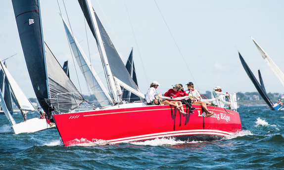 J/109 sailing Jamestown Round Island race