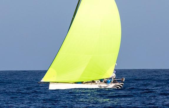 J/121 sailing RORC 600 Race in Caribbean