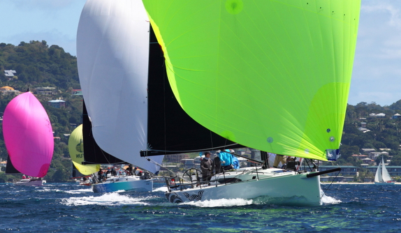 J/121 sailing Grenada Sailing Week