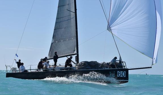 J/111 sailing off Key West