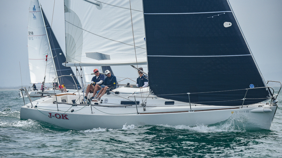 J/105 sailing Yachting Cup