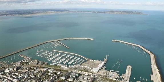 Dun Laoghirie Harbour, Ireland- where's Waldo??