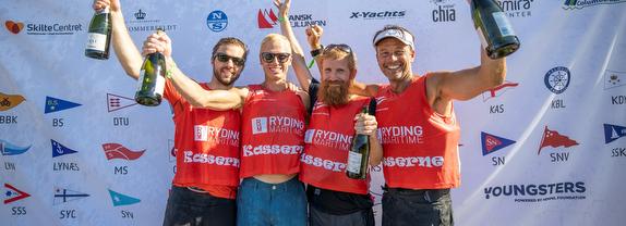 Danish J/70 sailing league winners
