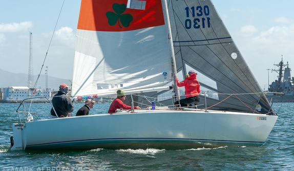 J/24 sailing San Diego NOOD Regatta