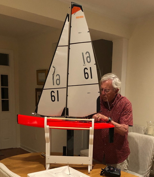 DF-95 sailing model