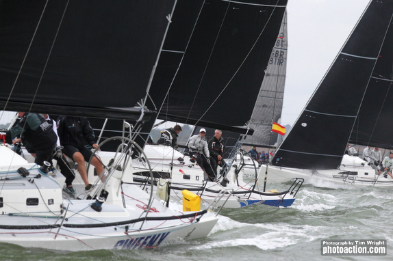 J/111s sailing World Championship