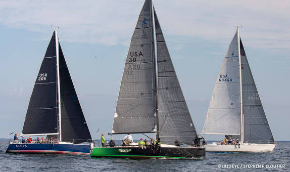 J/109, J/111, and J/46 at Edgartown Regatta