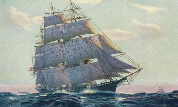 Extreme clipper ship- Flying Cloud