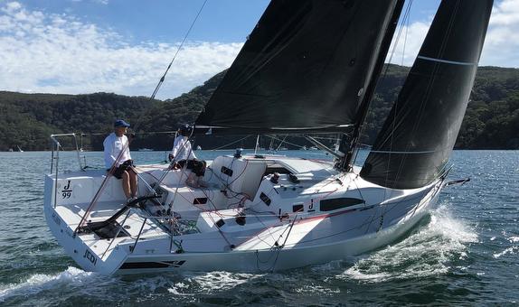 J/99 sailing off Australia