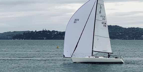 J/105 Arbitrage sailing San Francisco