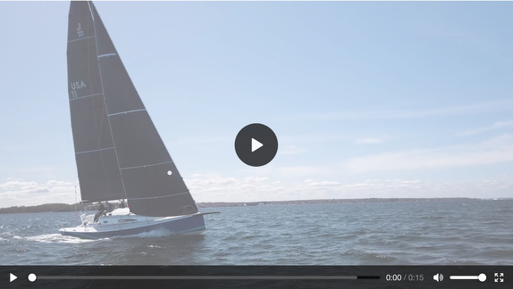 J/99 sailing video