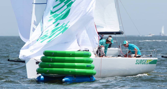 MarkSetBot robotic mark for sailboat racing