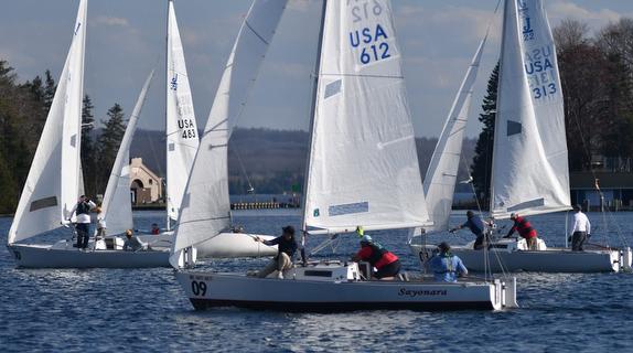 J/22s sailing on Lake Charlevoix