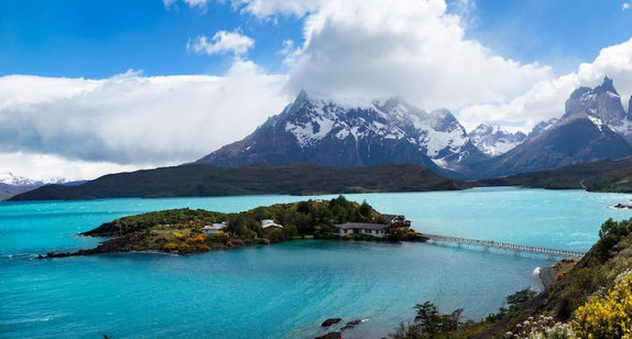 Perfect weather here in Torres del Paine, Chile