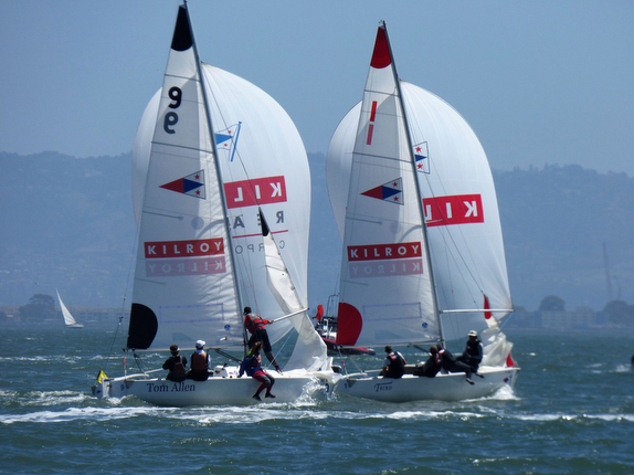 J/22 match racing