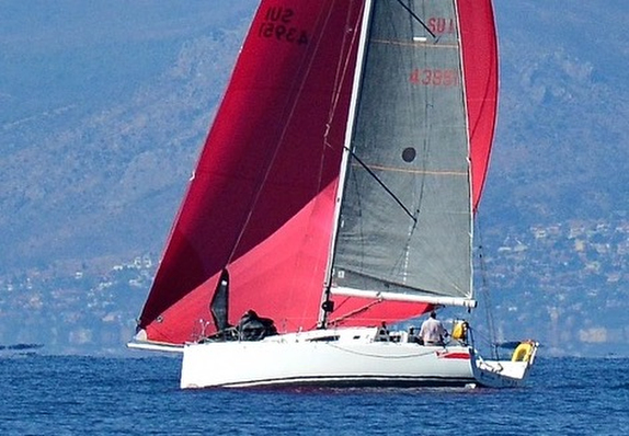 J/111 doublehanded boat