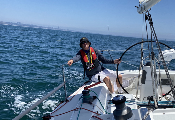 J/105 sailing Doublehanded PSSA race