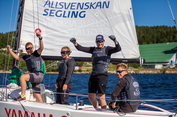 J/70 Swedish sailing league winners
