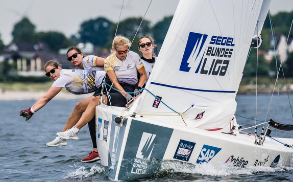 J/70 women's sailing team- Kiel, Germany