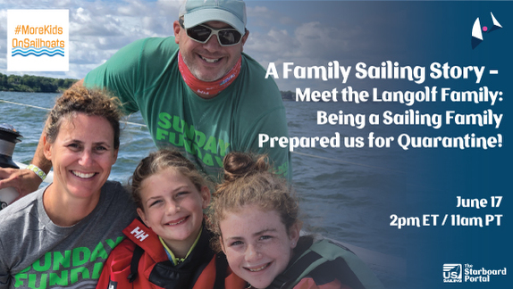 Sailing Family Story- the Langolfs