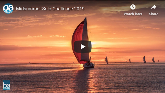 Midsummer Solo Challenge with J/88 in 2019