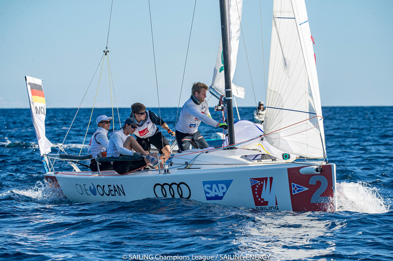 German J/70 Sailing champion league winners