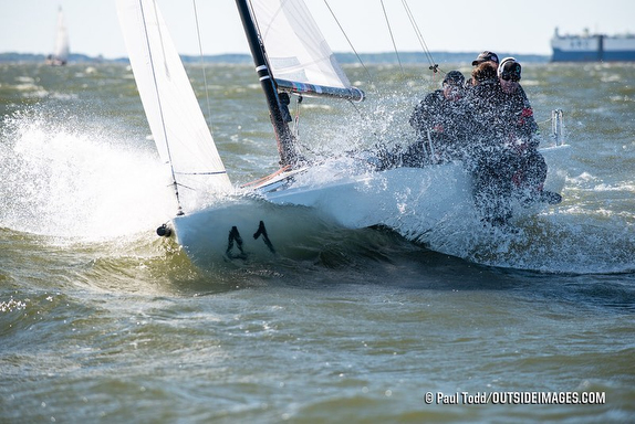 J/70s sailing Chesapeake Bay