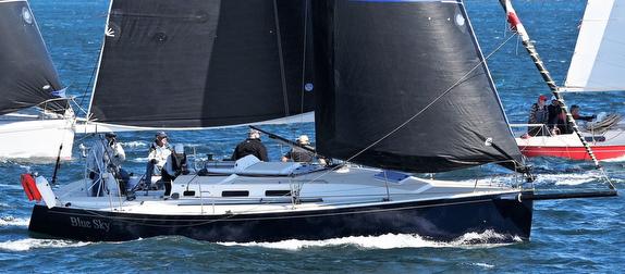 J/109 sailing off Sydney, Australia