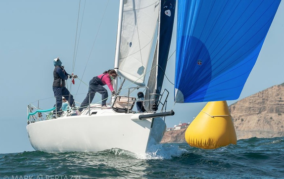 J/105 at San Diego NOOD Regatta