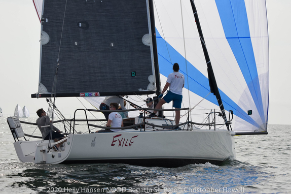 J/88 Exile from Chicago on Tampa Bay