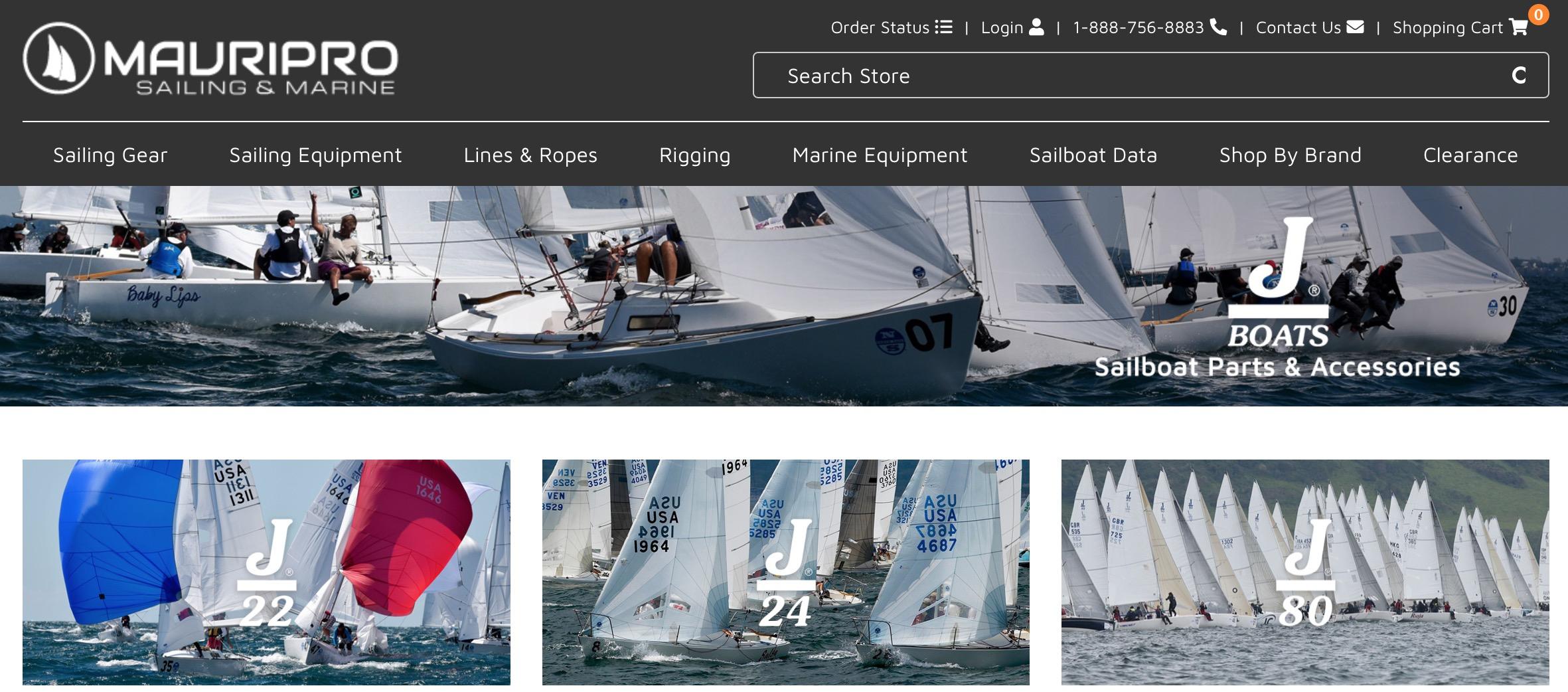 Mauri Pro Sailing JBoats shop