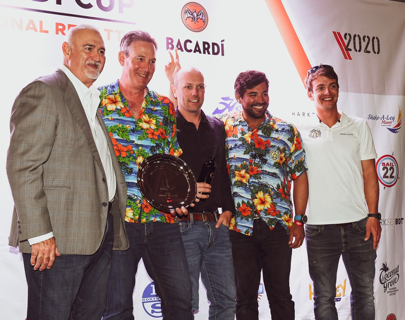 J/70 Bacardi winners- Paul Ward