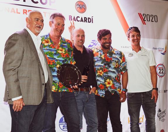 J/70 Bacardi winners- Paul Ward