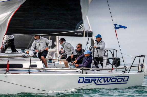 J/121 Darkwood sailing Solent, England