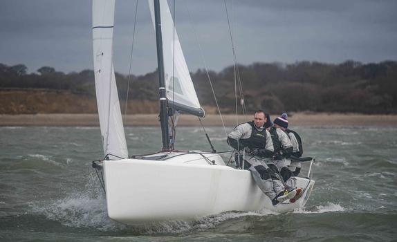 J/70 sailing Warsash Spring Series- England