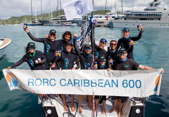 J/122 LIQUID- Caribbean Best Boat winners!