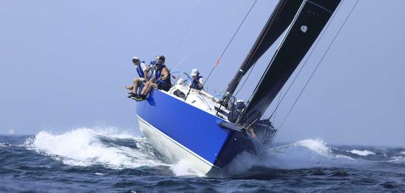 J/121 Crescent IV sailing off Japan