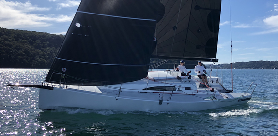 J/99 sailing doublehanded offshore