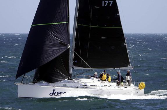 J/122 sailing off Perth, Australia