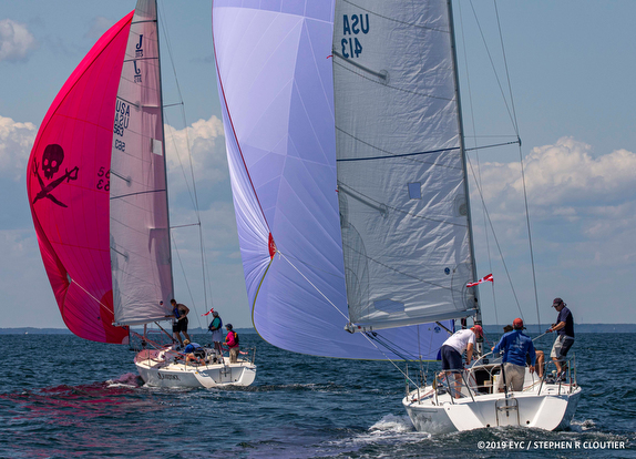 J/105 sailing Edgartown Race Weekend