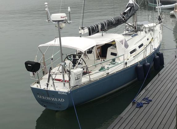 J/42 cruising performance sailboat