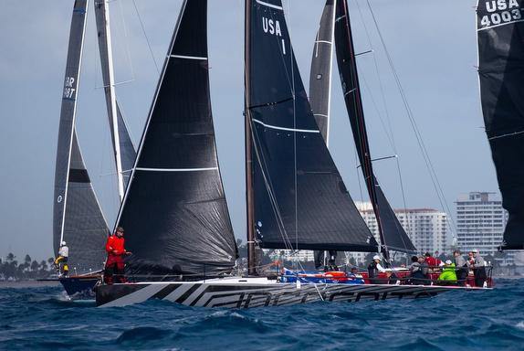 J/121 sailing Key West Race