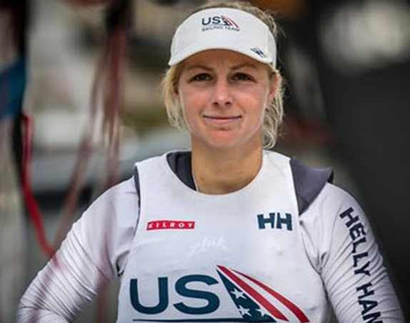 Stephanie Roble earns New York YC's top sailor honor