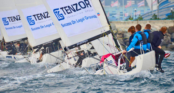 ARTTUBE RUS-1 WINS TENZOR CUP BY PROYACHTING J/70 CHAMPION SERIES